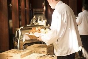 Bild Kellner im Restaurant