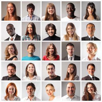 Bild Menschengruppe
