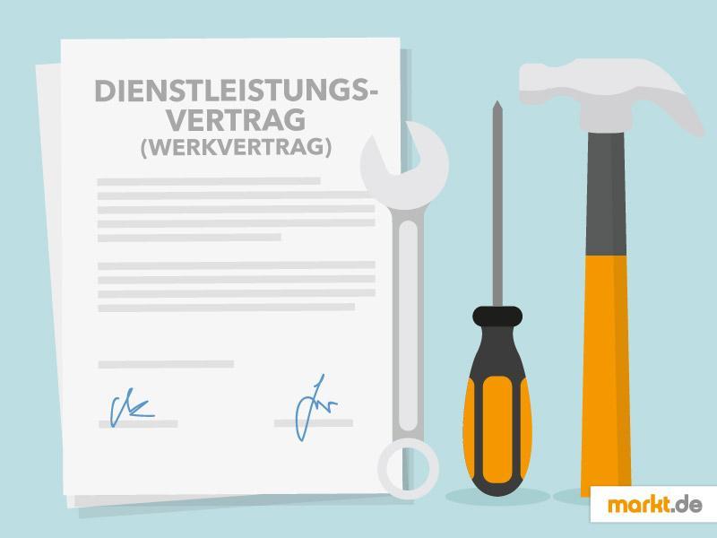 Mustervertrag Für Dienstleistungen Werkvertrag Marktde