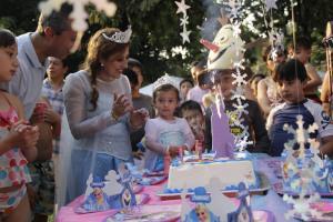Kindergeburtstag Motto Frozen Eiskönigin