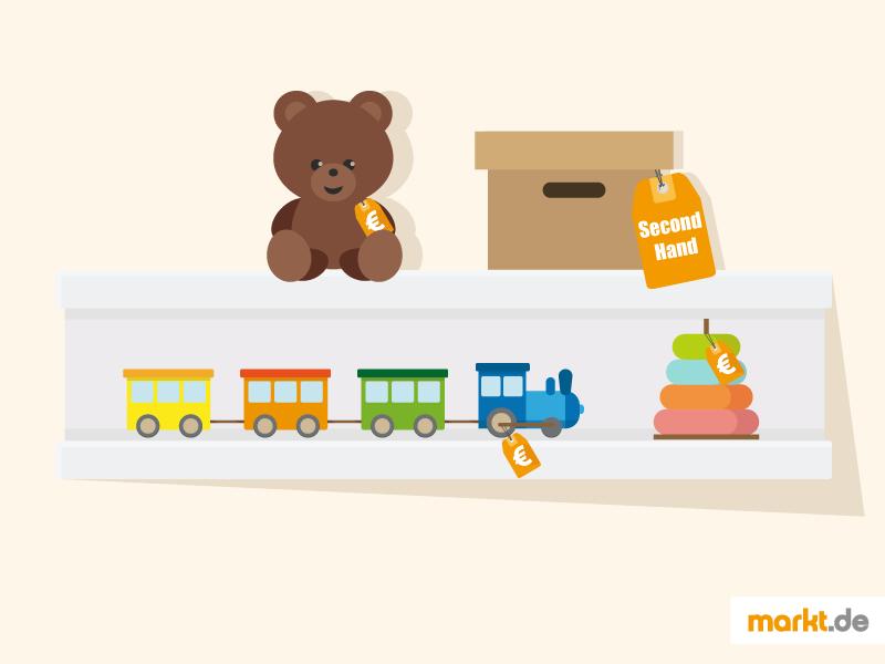 Second Hand Spielzeug, Spielzeug günstig gebraucht kaufen