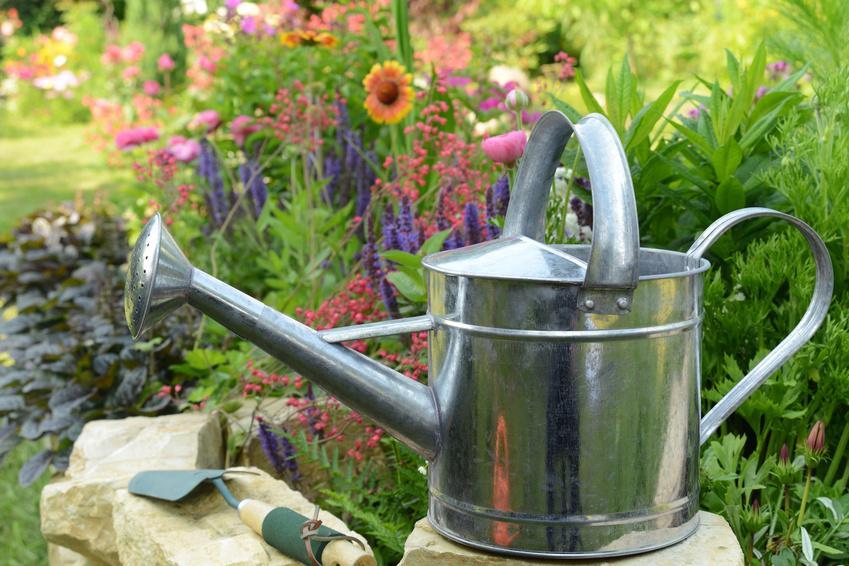 Gießkanne für den Garten