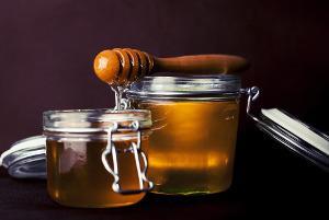 Bild Honig im Glas
