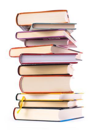 Bild Stapel Bücher