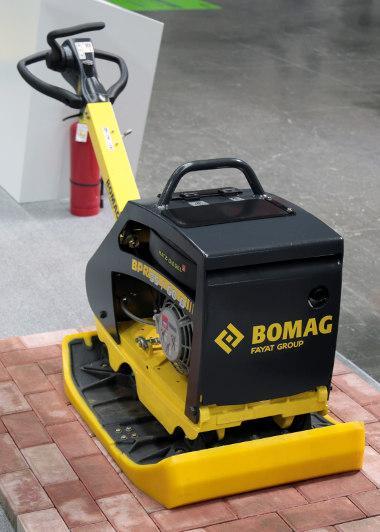 Bild BOMAG Baumaschine