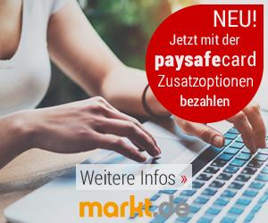 Neue Zahlart paysafecard