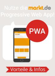Nutze die markt.de Progressive Web App!