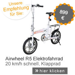 Airwheel Elektroklapprad