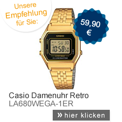 Casio Damenuhr Retro