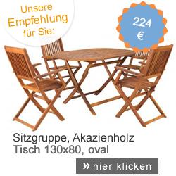 Sitzgruppe Akazie