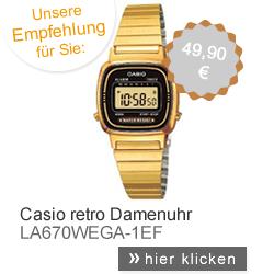 Casio Retro Uhr