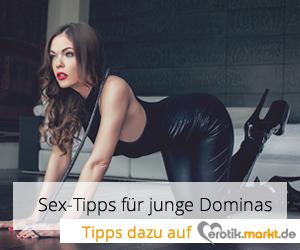 Tipps für junge Dominas