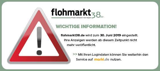 flohmarkt38 wird abgeschaltet