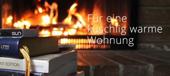 Kuschlig, warme Wohnung