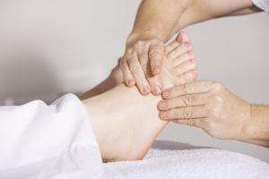 Fußmassage Reflexzonen