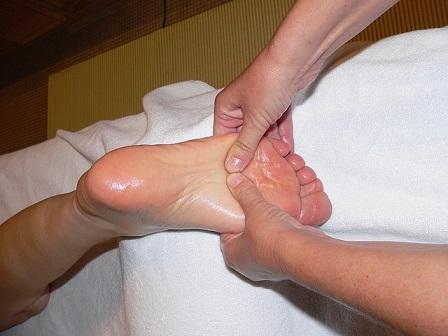 Bild Fußreflexzonenmassage