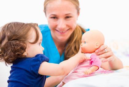 Bild von Nebenjob als Babysitter