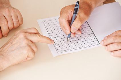 Bild Gedächtnistraining für Senioren mit Rätsel