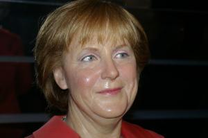 Angela Merkel im Madame Tussauds