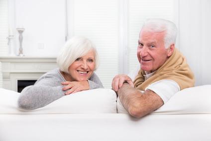 Bild Lächelndes Senioren-Pärchen