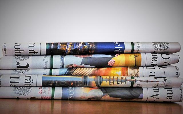 Bild Zeitung als Geschenkpapier