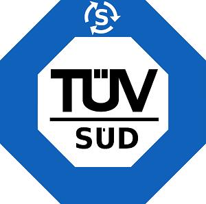 Bild Logo TÜV Süd in blau weiß