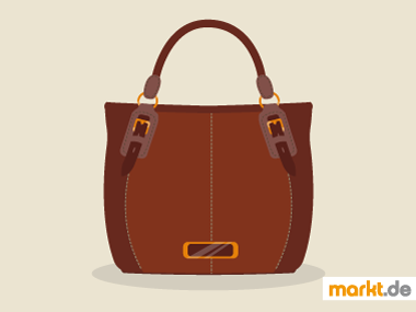 Grafik Lederhandtasche