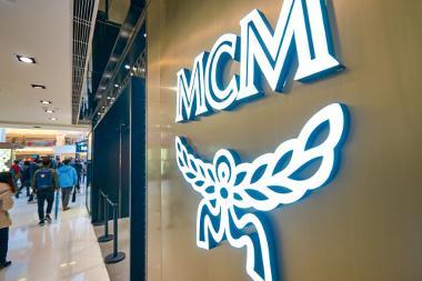 Bild Geschäft der Marke MCM