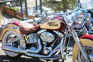 Bild Chopper von Harley Davidson