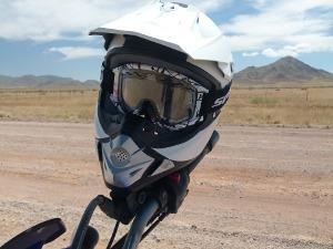 Bild Motorcross-Helm in weiß