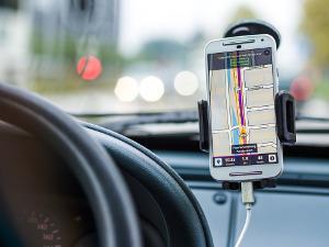 Bild Smartphone als Navigationsgerät