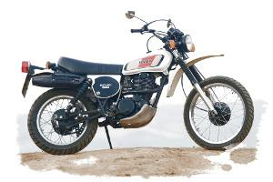 Bild Yamaha XT 500
