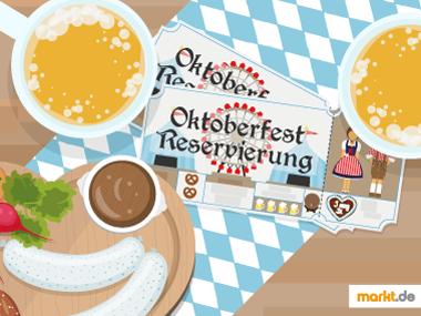 Grafik Oktoberfest Reservierung