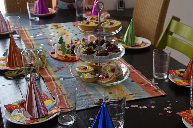 Bild Dekoration für Silvesterparty