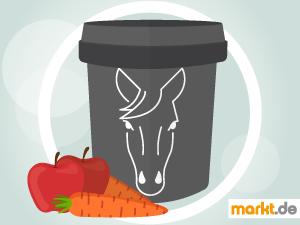 Bild Futterbox für Pferde und Gemüse