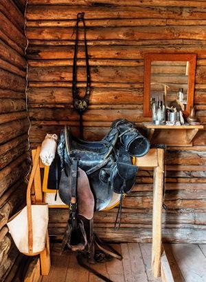 Bild Sattel auf Sattelständer