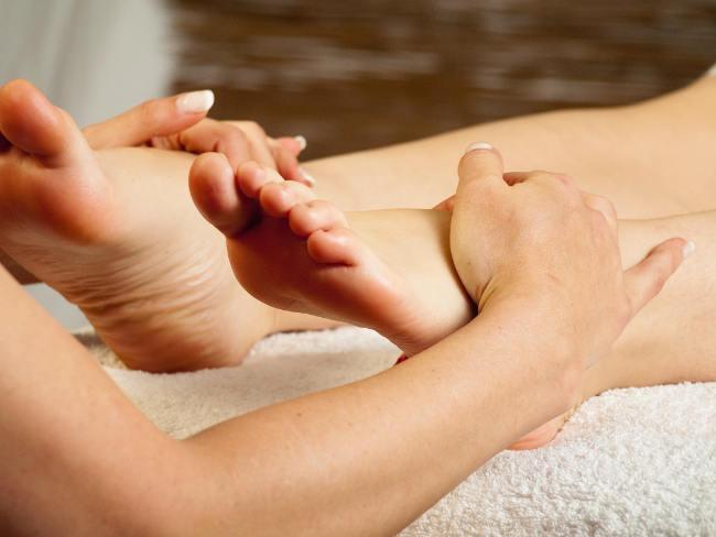 Bild von Fußreflexzonenmassage