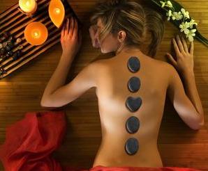Bild von Hot Stone Massage