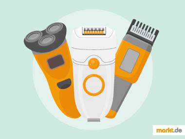 Grafik Geräte zur Körperpflege