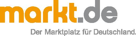 Grafik markt.de Logo mit Claim
