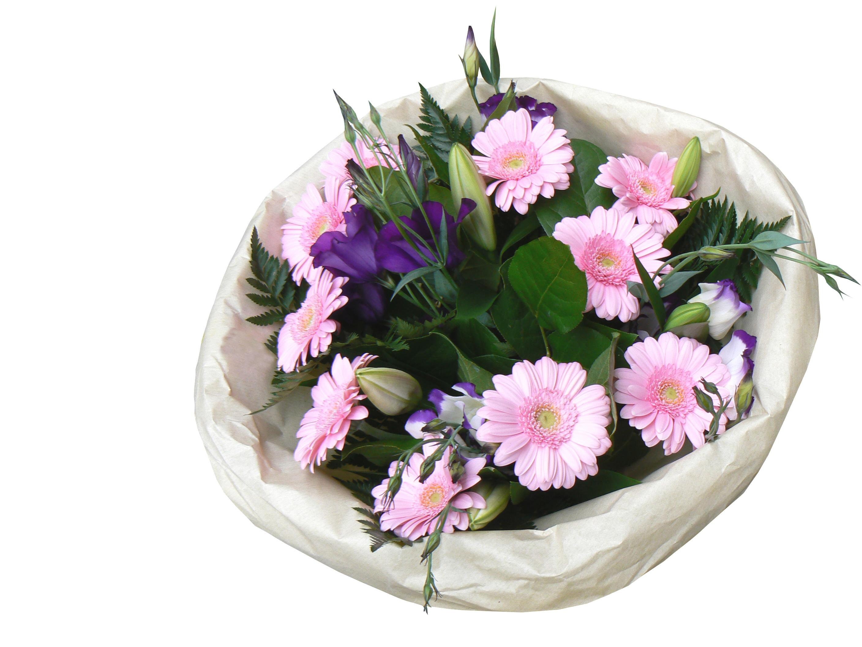 Bild rosa Blumenstrauß