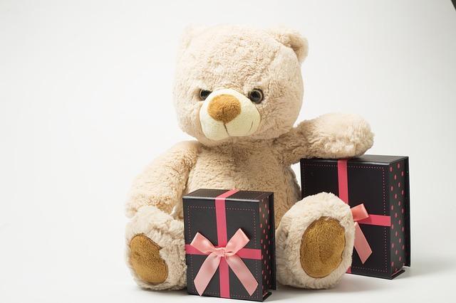 Bild Geschenk Teddybär
