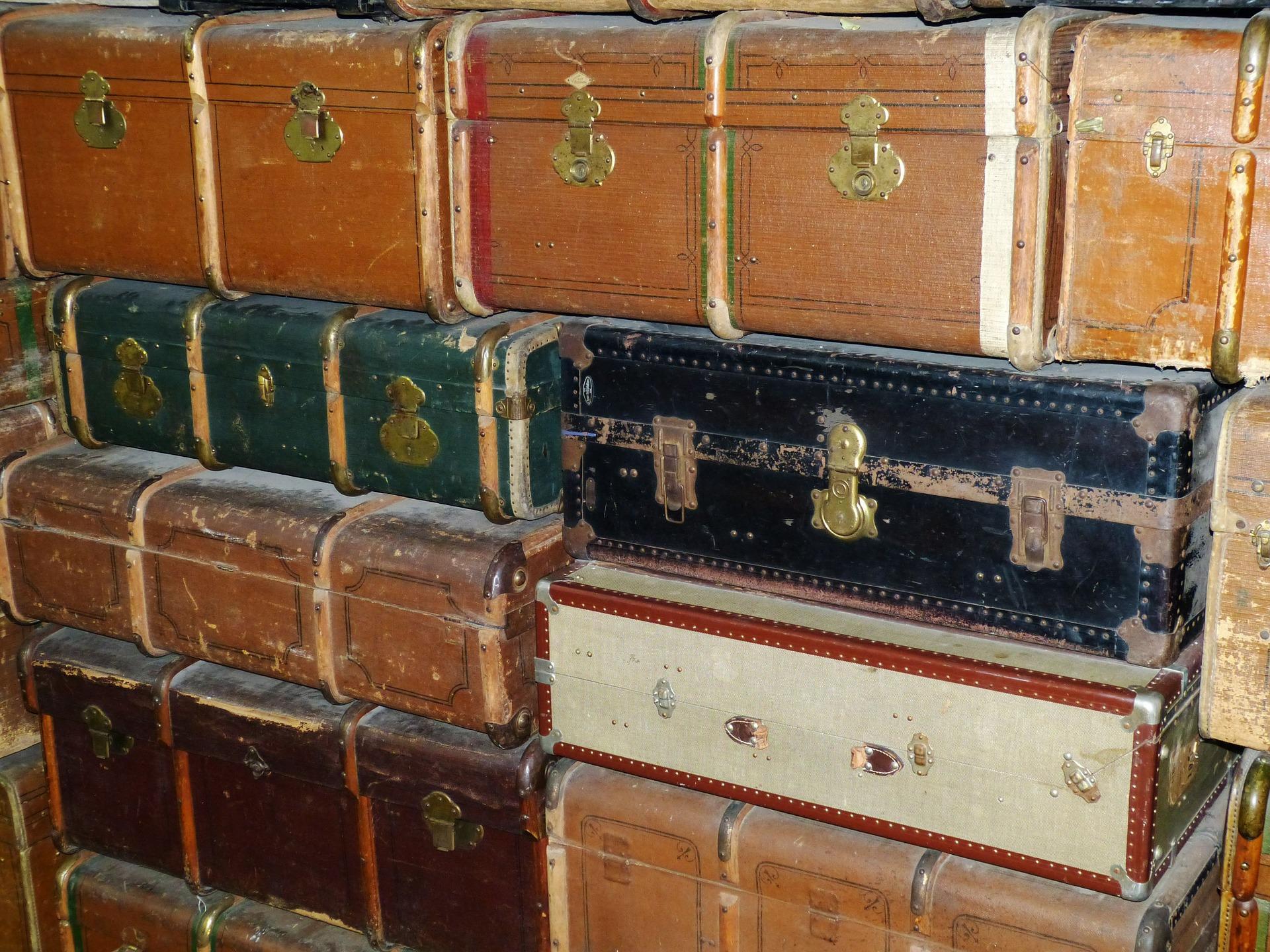 Bild Alte Koffer