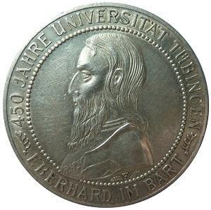 Bild Münze Eberhard im Bart