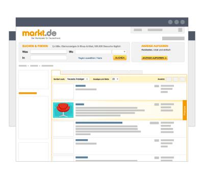 Grafik Premium Anzeige Zusatzoption