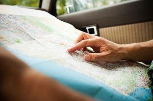 Planung mit der Straßenkarte