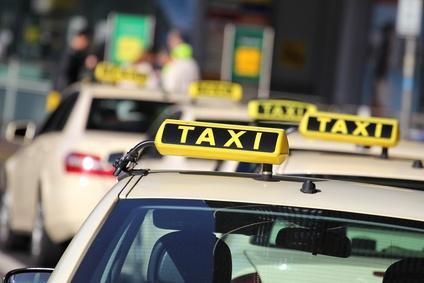 Bild Personenbeförderungsschein Taxi