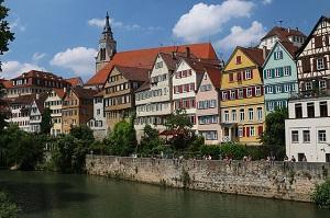 Bild Die Altstadt von Tübingen
