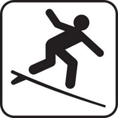 Bild Surfer-Icon