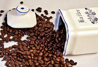 Bild Vintage Kaffebehälter